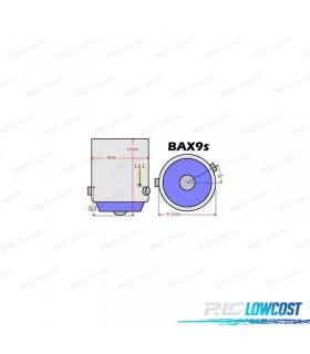 LÂMPADA LED CANBUS H6W / BAX9S