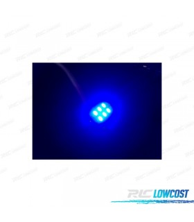 LÂMPADA LED AZUL C5W / FESTOON 36, 39, 41MM