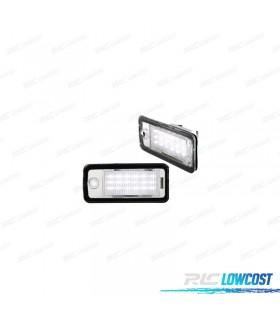 LUZ DE MATRICULA LED AUDI A4 B6 Y B7 (2000-2008)