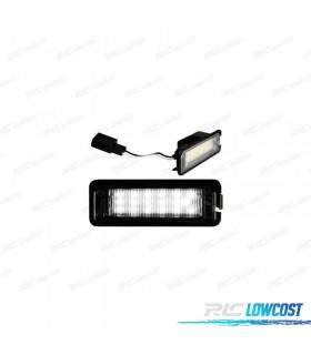 LUCES DE MATRÍCULA LED SEAT LEON III (2013-2016)