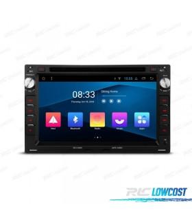 AUTO RADIO GPS LCD TÁCTIL 7' PARA SKODA VW SEAT ANDROID 8.1 CANBUS BLUETOOTH