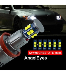 KIT DE ANGEL EYES EM LED 120W PARA BMW (2007-2011)
