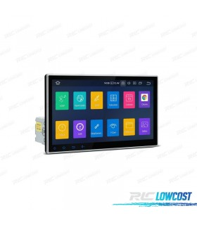 "AUTO RADIO GPS 1DIN ANDROID 9.0 LCD TÁCTIL 10"" CARPLAY USB DUAL ZONE"