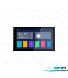 "Auto Radio GPS 2DIN ANDROID 9.0 LCD TÁCTIL 7"" CARPLAY USB DUAL ZONE"