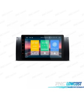 AUTO RADIO PARA BMW X5 E53 CON ANDROID 9.0 CANBUS BLUETOOTH 2GB RAM