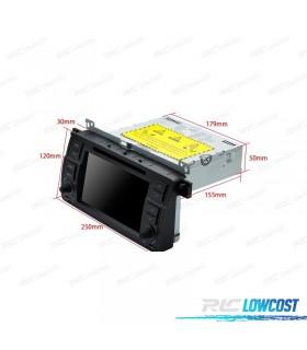 "AUTO RADIO DVD GPS LCD TÁCTIL 7"" PARA BMW SERIE 3 E46 ANDROID 8.0 4GB RAM"