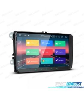 "AUTO RADIO ANDROID 9.0 LCD TÁCTIL 9"" VW SEAT Y SKODA"
