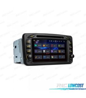 AUTO RADIO GPS MERCEDES BENZ CLASE A C E G VITO Y VIANO ANDROID 8.0 4GB RAM E CARPLAY