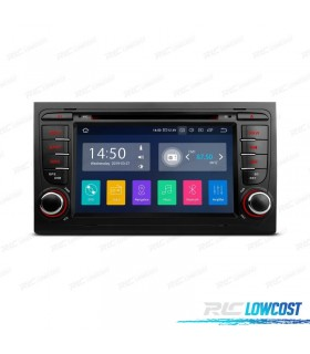 "AUTO RADIO TÁCTIL 7"" AUDI A4 SEAT EXEO ANDROID 9.0 CARPLAY FULL RCA"
