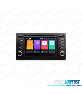 """AUTO RADIO DVD GPS LCD TÁCTIL 7"""" AUDI A4 SEAT EXEO ANDROID 8.0 4GB RAM CANBUS"""