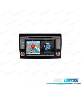 "AUTO RADIO GPS FIAT BRAVO TÁCTIL 7"" ANDROID 8.1 BLUETOOTH WIFI"