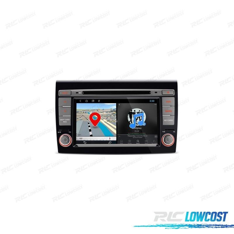 "AUTO RADIO GPS FIAT BRAVO TÁCTIL 7"" ANDROID 10.0 BLUETOOTH WIFI"