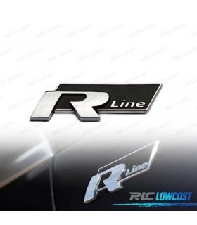 EMBLEMA R-LINE PRETO
