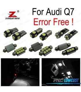 Kit completo de 26 lâmpadas LED interior para Audi Q7 4L (2005-2014)