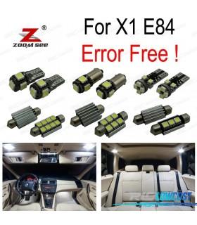 Kit completo de 16 lâmpadas LED interior para BMW X1 E84 (2010-2015)