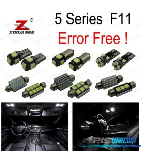 Kit completo de 26 lâmpadas LED interior para BMW 5 serie F11 Wagon Touring 520d 525d 530d 535d 528i 530i 535i 550i (2011 +)