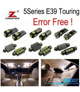 Kit completo de 25 lâmpadas LED interior para BMW E39 5 serie Wagon Touring 520i 525i 525d 528i 530i 530d 540i (97-03)