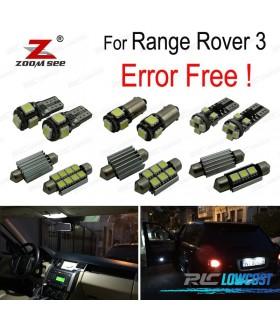 Kit completo de 22 lâmpadas LED interior para Land Rover 3 (2006-2012)