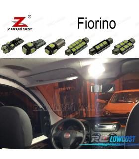 Kit completo de 5 lâmpadas LED interior para Fiat Fiorino (2007 -2012)