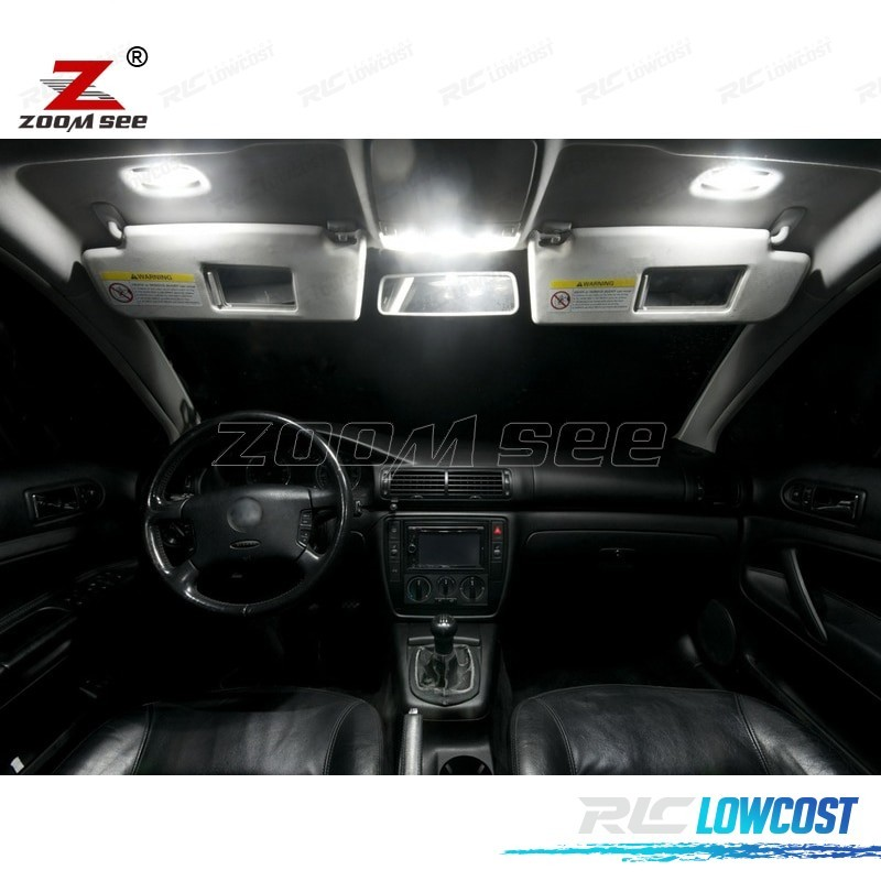 Kit Completo De 11 Lâmpadas Led Interior Para Volkswagen Vw Passat B5 97 05
