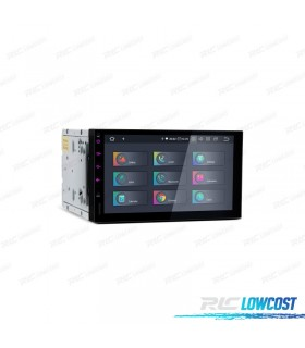 "AUTO RADIO GPS ANDROID 9.0 LCD TáCTIL 7"" 2DIN HDMI 4GB RAM 64GB ROM CARPLAY"