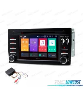 "AUTO RADIO DVD GPS LCD TáCTIL 7"" PORSCHE CAYENNE ANDROID 8.0 + INTERFACE FIBRA + CARPLAY"