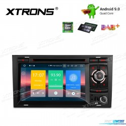 """AUTO RÁDIO 7"""" ANDROID 9.0 STERIO MULTIMEDIA DVD PARA SEAT A4,S4,RS4"""