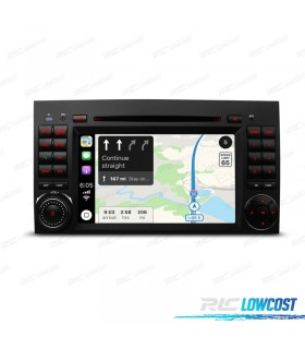 """AUTO RADIO ANDROID 9 TIPO OEM GPS 7"""" MERCEDES USB GPS TACTIL HD"""